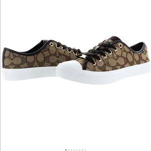 Coach Empire Signature Low Top Logo Sneaker